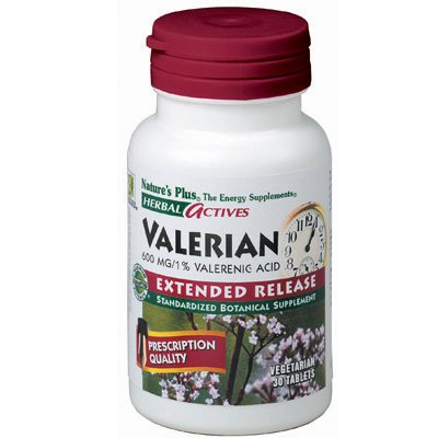 Herbal Actives Valerian by Nature's Plus - 30 tablets
