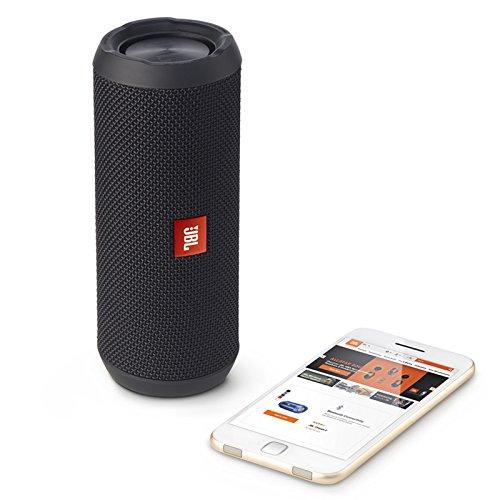 JBL Flip 3 Splashproof Portable Bluetooth Speaker (Black)