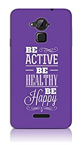 Be Active Be Healthy Case For Coolpad Note 3