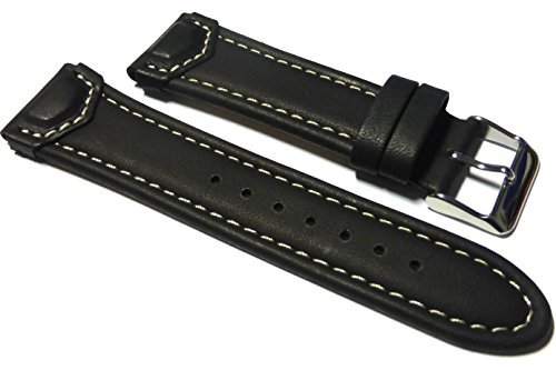 22mm-accurist-black-smooth-matt-tab-end-leather-watch-strap