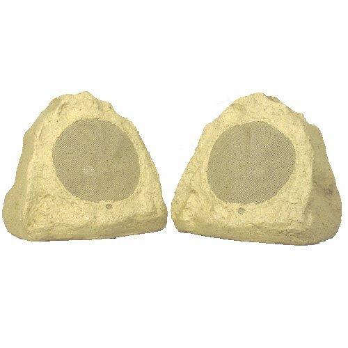 Theater Solutions 2R6S Outdoor Rock Speakers (Sandstone) front-575892
