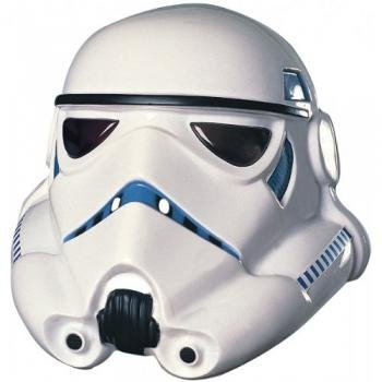 Rubie's Men's Star Wars Stormtrooper Mask, White, One Size