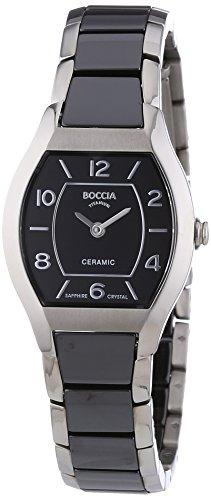 Boccia Ladies'Watch XS Analogue Quartz 3218-02 Ceramic