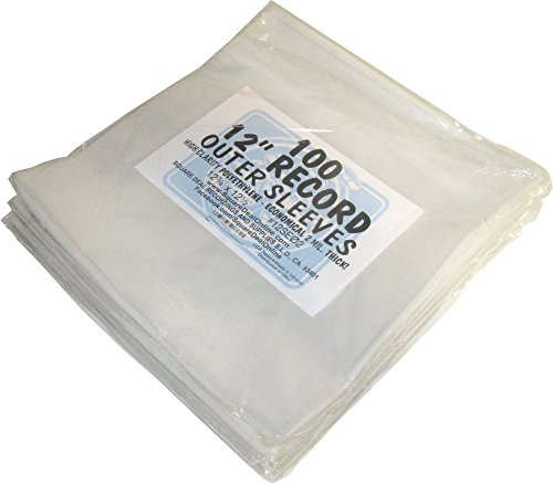 500-12-ECONOMICAL-Record-Outer-Sleeves-2mil-Polyethylene-12-34-x-12-12