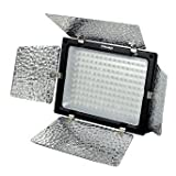 Yongnuo yn-160 led luce video per videocamera camcorder hot shoe flash luce lampada per canon eos 1ds, 5d, 7d,...