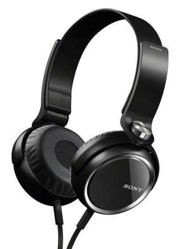 Sony Mdr-Xb400 Xb Series Extra Bass Headphones (Black)