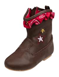 Disney Store Toy Story Jessie Cowgirl Boots Brown Toddlers Baby