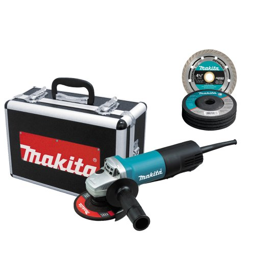 Read About Makita 9557PBX1 4-1/2-Inch Angle Grinder with Aluminum Case