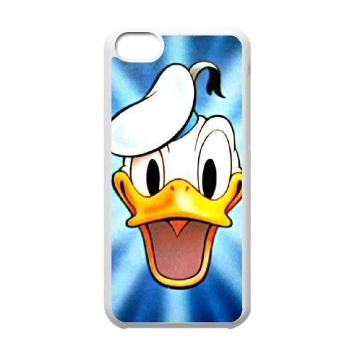 iPhone 5c Cell Phone Case White Donald Duck BIE Durable 16D Phone Case