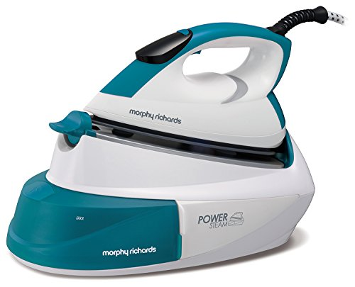 morphy-richards-333005-power-steam-with-intellitemp-compact-steam-generator-45-bar-green-white