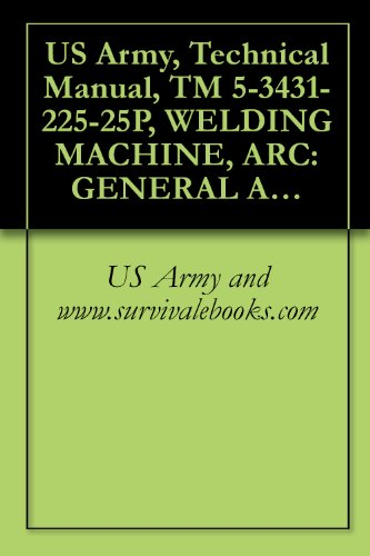 Us Army, Technical Manual, Tm 5-3431-225-25P, Welding Machine, Arc: General And I Gas Shielded Transformer; 300 Amp; 5 To 460 Amp Ac: 5 To 350 Am (Miller Model 330A/B/Sp) (Fsn 3431-114-0858)
