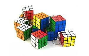 Set of 6 Magic cube key chains