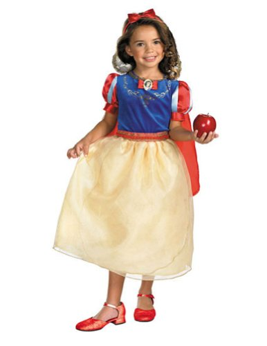 Snow White Deluxe Child 4x-6x Kids Girls Costume