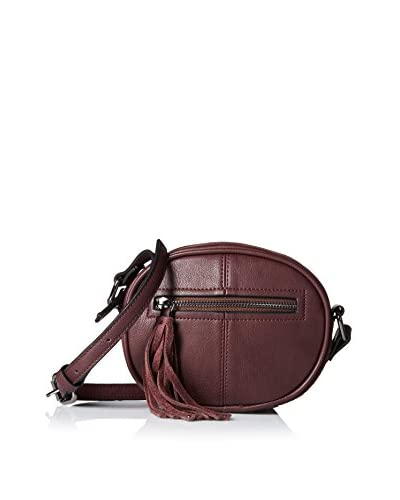 French Connection Women's Jenny Crossbody, Biker Berry