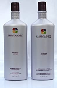 Pureology Hydrate Shampoo 33.8 oz & Condition 33.8 oz Duo Set