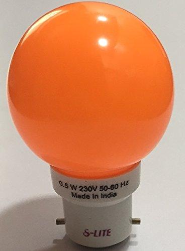 0.5W-LED-Bulb-(Orange)