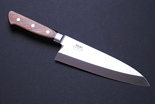 "Yoshihiro Vg-1 Stainless Steel Deba Fillet Butcher Japanese Chef'S Knife Yoshikuni Series7""(180Mm)"