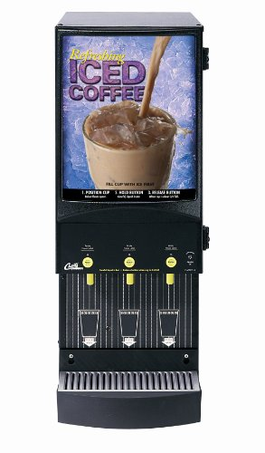 Wilbur Curtis Café Primo Iced Coffee System 3 Station Iced Coffee (4 Lb Hoppers) - Commercial Iced Coffee Machine - CAFEPC3CS10900 (Each)