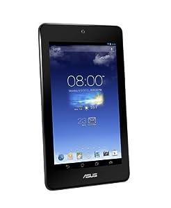 """Asus ME173X-1B056A Tablette tactile 7"""" (17,78 cm) 1,2 GHz 8 Go Android Jelly Bean 4.2.2 Bluetooth/Wi-Fi Noir avec reflet bleu nuit"""