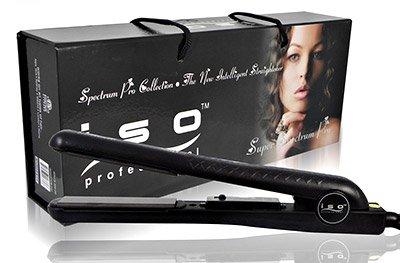 Iso Professional Hair Straightener Spectrum Pro BLACK