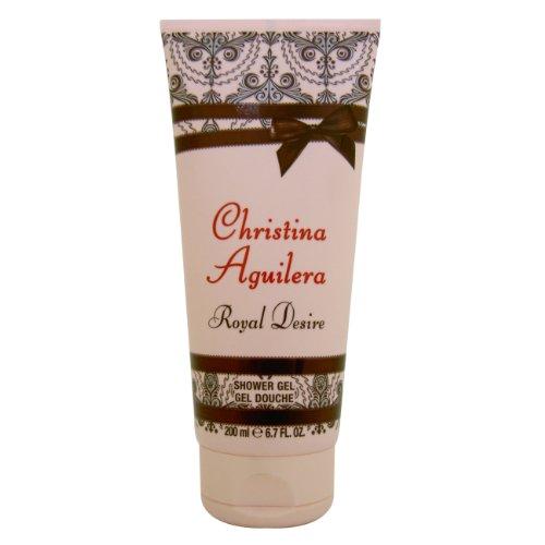 Desiderio Christina Aguilera Reale Donne Gel doccia 200 ml, 1 pacchetto (1 x 200 ml)