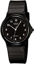 Comprar CASIO Collection MQ-24-1BLLGF - Reloj unisex de cuarzo, correa de resina color negro