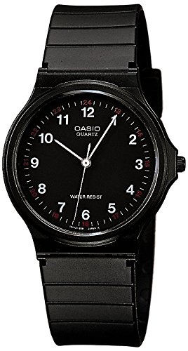 Casio Collection MQ-24-1BLLGF Orologio Analogico da Polso, Unisex, Resina, Nero