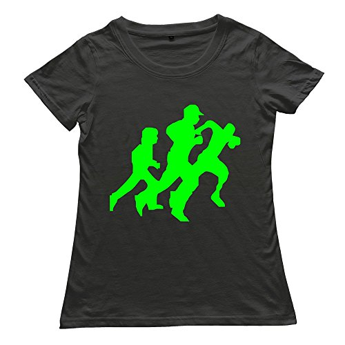 Stabe Women'S Running Men T-Shirt O Neck Cool Black