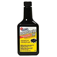 Gunk M2714H/6 Power Steering Fluid with Stop Leak and Conditioner - 12 fl. oz.
