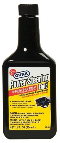 Motor Medic M2714H/6 Power Steering Fluid with Stop Leak & Conditioner for Honda and Acura - 12 oz. (Stop Leak Steering compare prices)