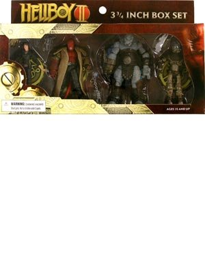 Buy Low Price Mezco Hellboy II The Golden Army 3-3/4 Inch Box Set Figure (B001EO7WPW)