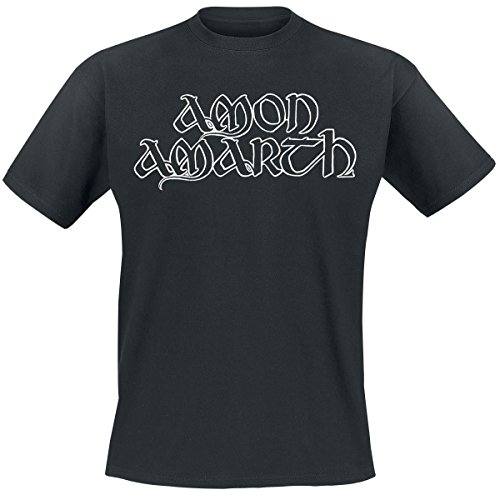 Amon Amarth Logo T-Shirt nero XL