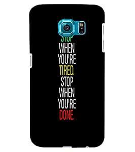 Citydreamz Back cover For Samsung Galaxy S6 Edge