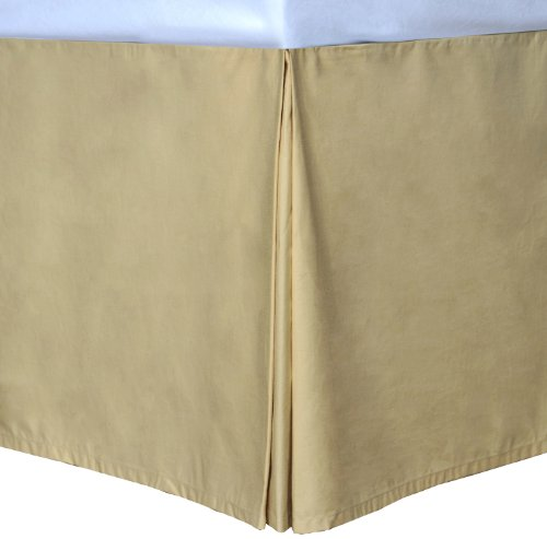Wheat Full Cottonloft Colors Bed Skirt front-830338