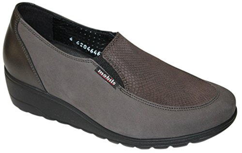MEPHISTO BERTRANE GREY MOCASSINO DONNA MOBILIS (5.5 UK)
