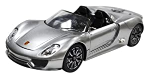 1/24 RC Car Porsche Spyder Silver Grey (japan import)