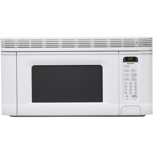 Best Review Of Sharp R-1406 950-Watt 1-2/5-Cubic-Foot Over-the-Range Microwave, White