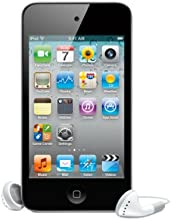 Apple iPod Touch 4G MP3-Player (Facetime, HD Video, Retina Display) 32 GB, schwarz