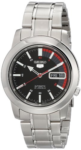 Seiko Men's SNKK31 Automatic Stainless Steel Watch