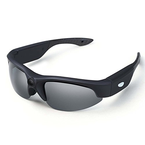 OldShark® 1080P Camera Video Sunglasses 120 Degree Wide Angle Sport DVR Eyewear Recorder with 8G Memory Card