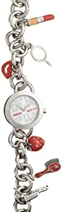 Miss Sixty Sca001 - Reloj para niñas de cuarzo, correa de acero inoxidable color plata