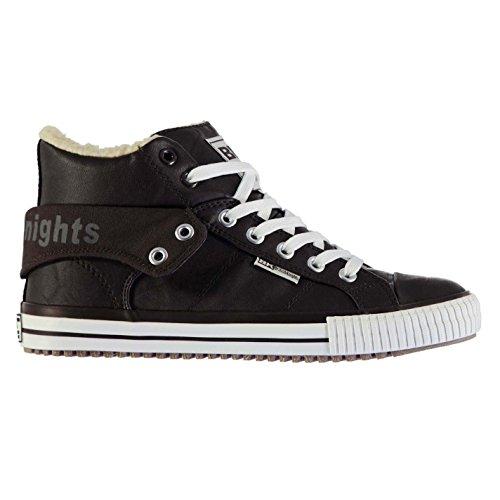 british-knights-roco-fur-herren-hi-top-sneaker-turnschuhe-fasion-freizeit-schuhe-dunkelbraun-7-41