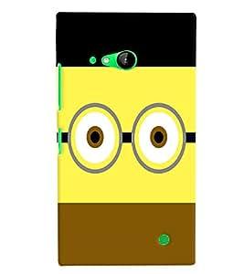 PRINTVISA Minion Funny Case Cover for Nokia Lumia 730