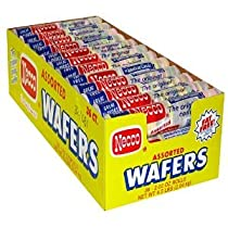 Necco Assorted Wafers (Economy Case Pack) 2.02 Oz Pkg (Pack of 36)
