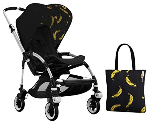 Bugaboo Bee3 Accessory Pack - Andy Warhol Black/Banana (Special Edition) - 1