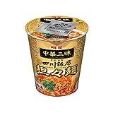 明星 中華三昧 タテ型カップ 四川飯店 担々麺 1ケース(12食入)