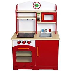 Infantastic® KDK03 Cucina giocattolo per bambini in legno: Amazon.it ...