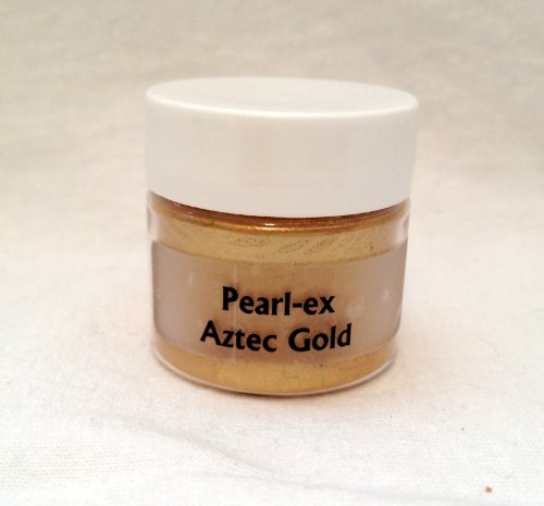 Jacquard Pearl Ex Aztec Gold Double Size 6 Gram Jar (Wax Embossing Stamp compare prices)