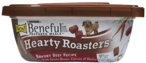 Beneful Prepared Meals Hearty Roasters Beef, 10-Ounce (Pack Of 8)
