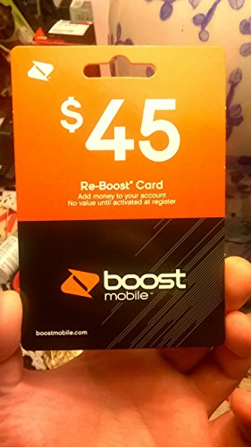 $45 Boost Mobile Card Refill Reboost - Pin Sent To You Via Email In Minutes
